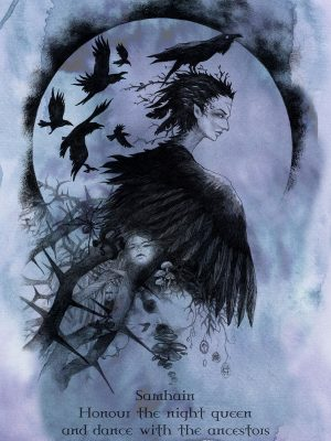 Samhain the Raven Queen