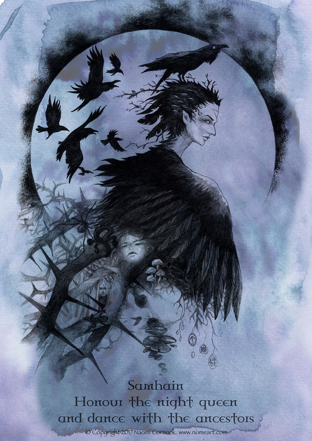 Samhain the Raven Queen