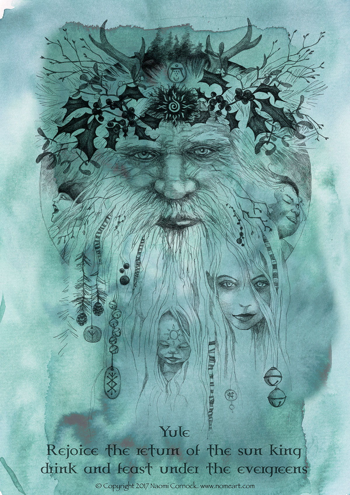 Yule – The Holly King