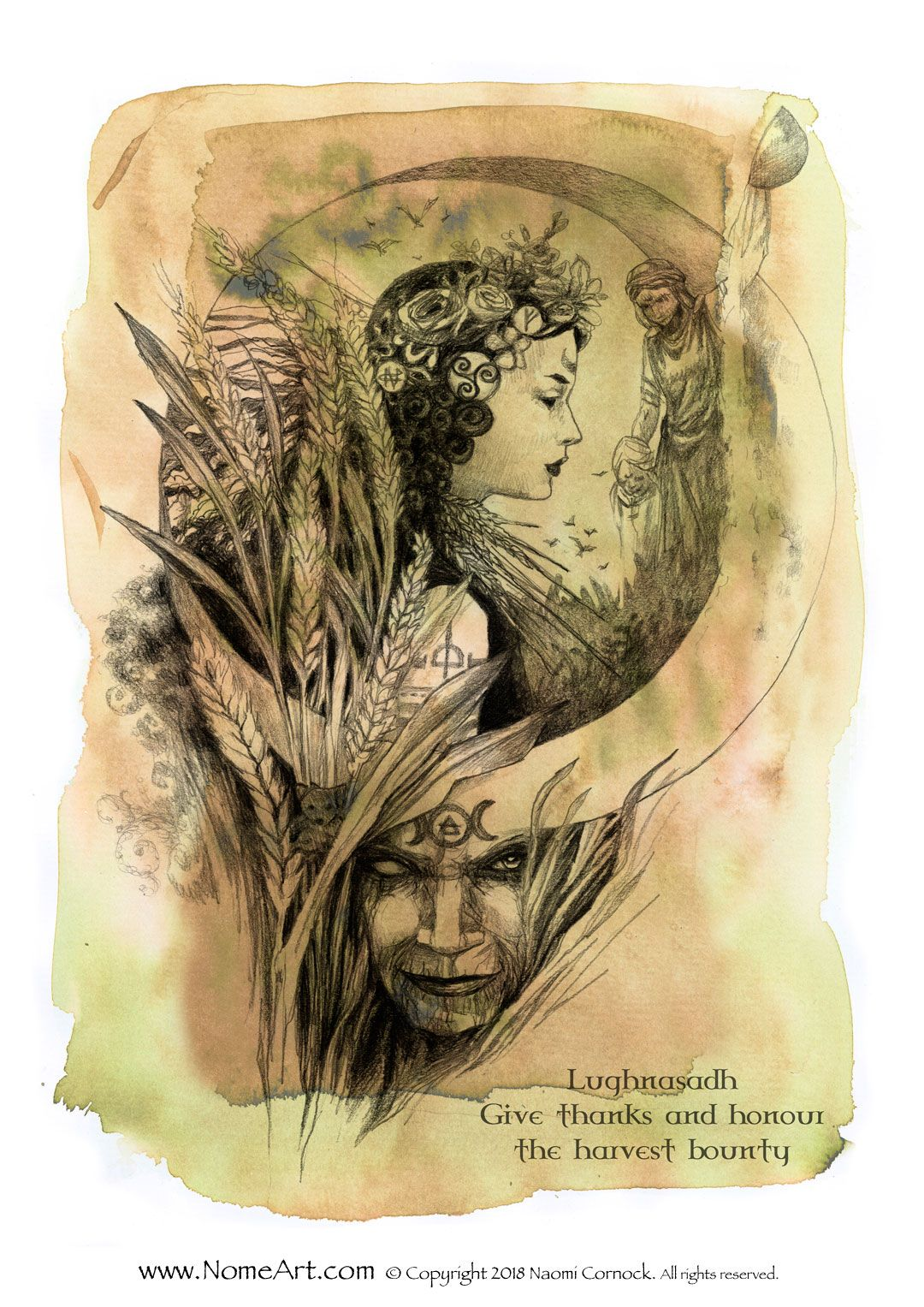 lughnasadh - wheel of the year