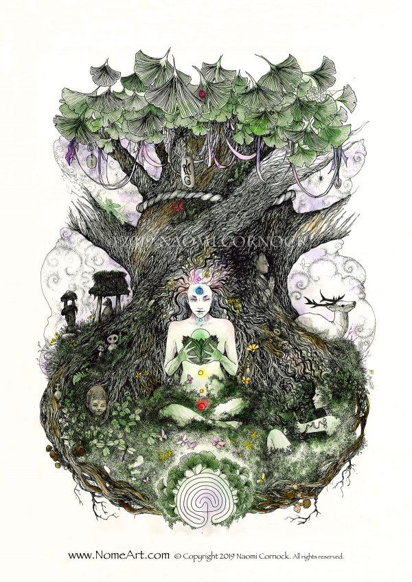 Healing Tree by Naomi Cornock