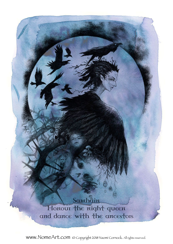 Samhain - wheel of the year