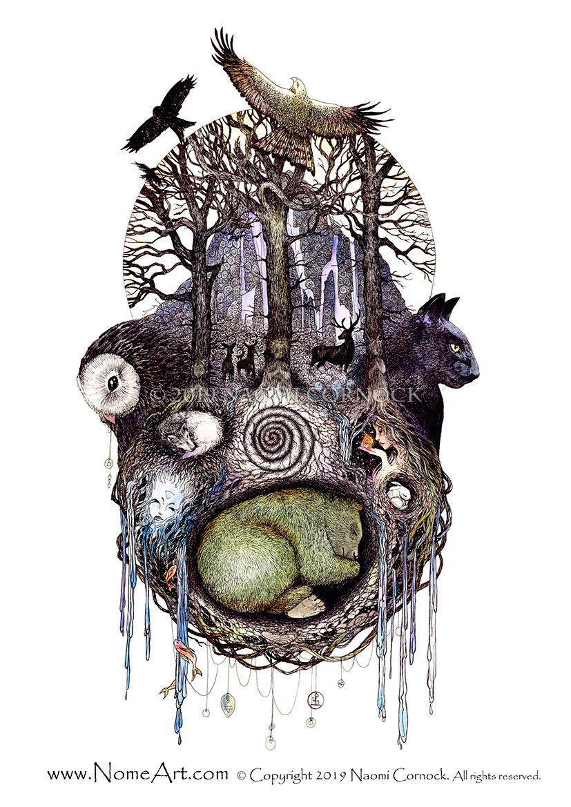 Healing Spirits by Naomi Cornock