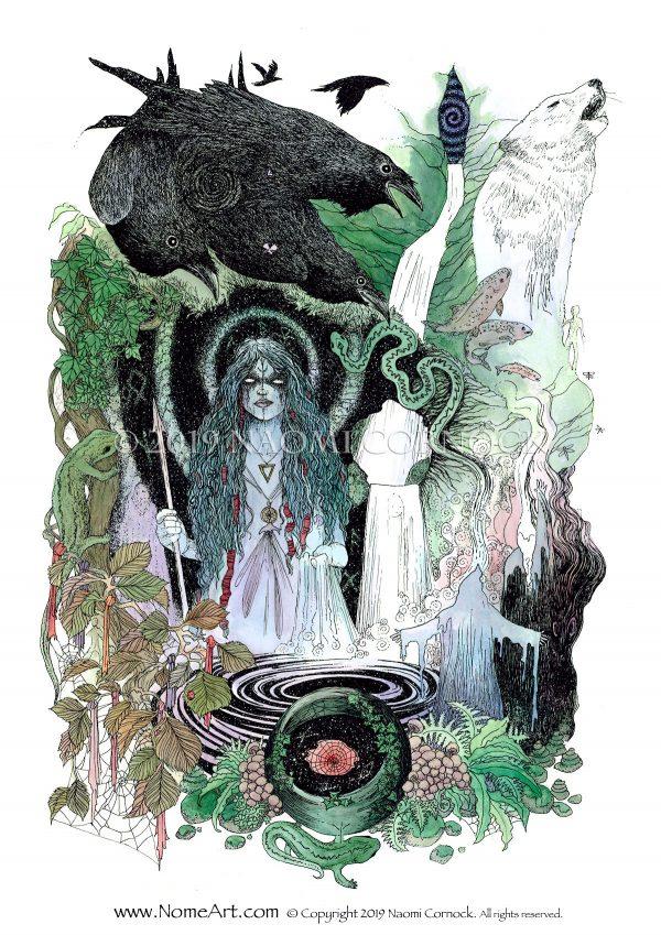 Into the Cauldron by Naomi Cornock