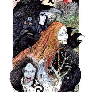 Morrigan - The Raven Queen
