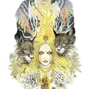 Healing Fire by Naomi Cornock