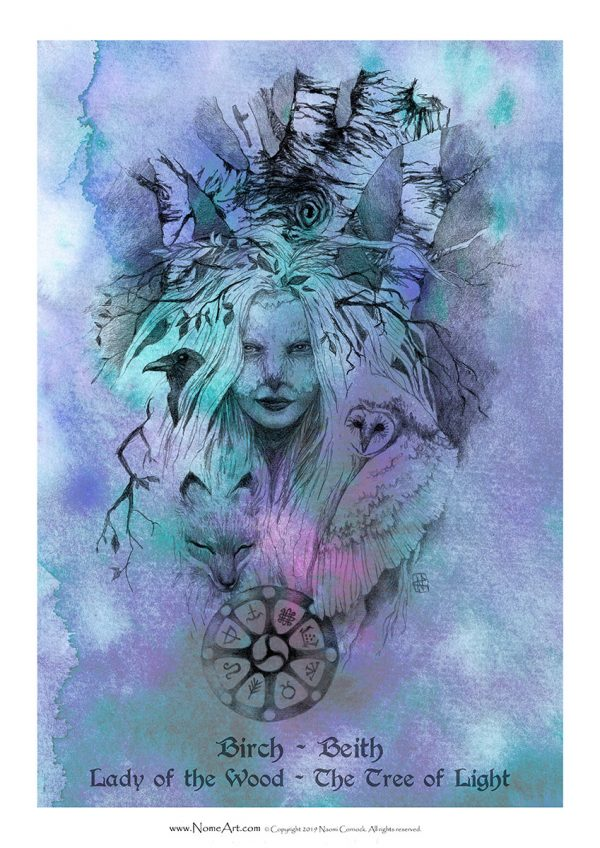 Birch Beith - Lady of the Wood, The Tree of Light