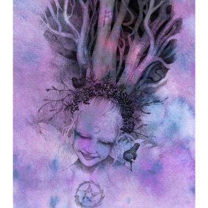 Rowan Luis: Mountain Ash, The Maiden, The Tree of Hope