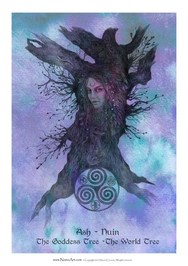 Ash Nuin - The Goddess Tree, The World Tree, The Faerie Tree
