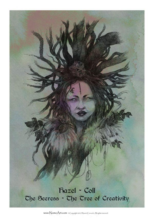 Hazel Coll: The Seeress, The Tree of Creativity