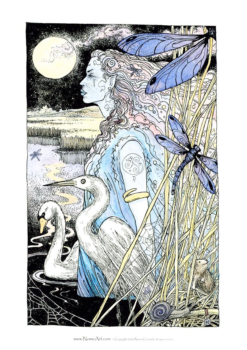 Lady of the Lake by Naomi Cornock