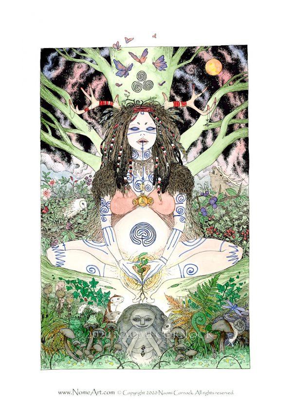 Birthing Shaman - Sheela na Gig