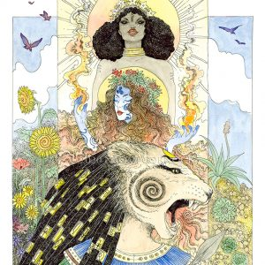 Sekhmet Goddesses of Fire and Sun