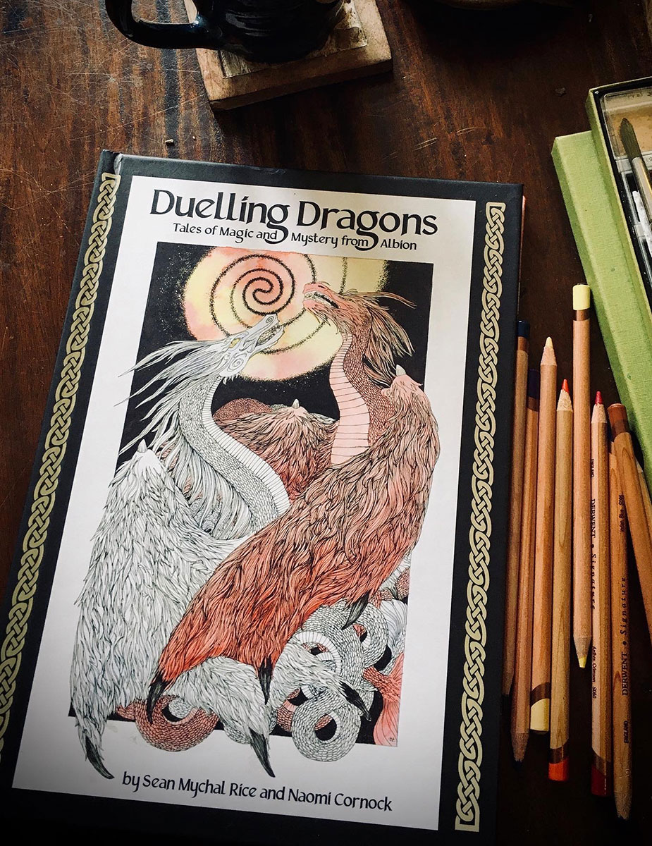 Duelling Dragons - Tales of Magic and Mystery from Albion