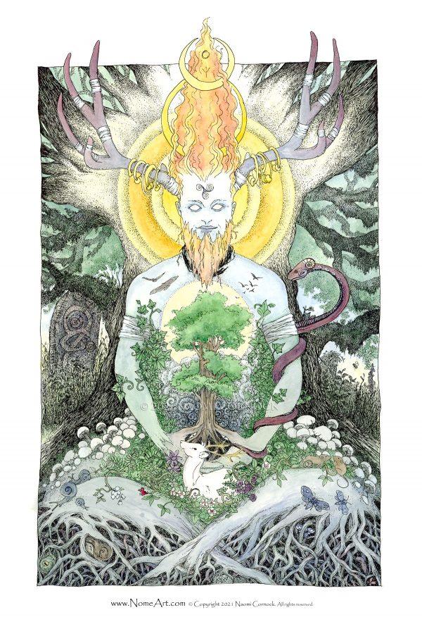 Cernunnos the Sacred Masculine